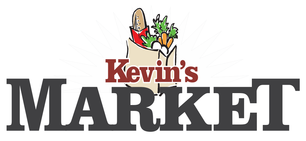 A theme logo of Kevin's Market